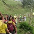Iniciando atividades do ano, grupo caminhou por trilhas e estradas rurais.