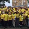 Grupo caminhou 220 km, de Lages/SC à Florianópolis/SC
