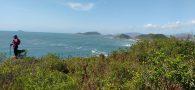 Por oito dias caminhamos contornando a Ilha de Santa Catarina