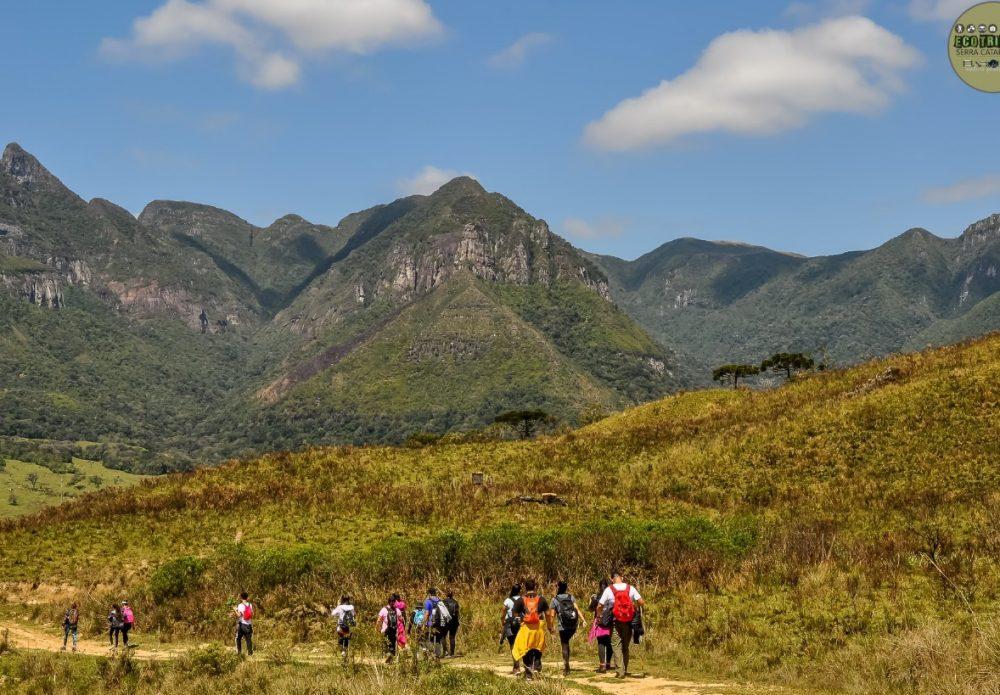 Caminhadas em trilhas nos Soldados Sebold e no Morro do Trombudo